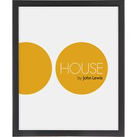 House by John Lewis Box Picture Frame, 24 x 30cm (9.5 x 12)