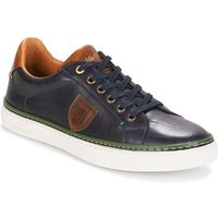Pantofola d'Oro  NAPOLI UOMO LOW  men's Shoes (Trainers) in Blue