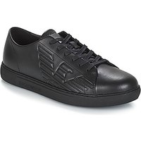 Emporio Armani  REMO  men's Shoes (Trainers) in Black
