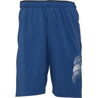 Canterbury Mens VapoDri Cotton Shorts Estate Blue Marl