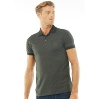 French Connection Mens Contrast Collar Polo Dark Green