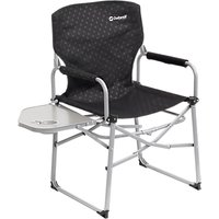 Outwell Picota Camping Chair with Side Table, Black