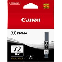 CANON PGI-72 Photo Black Ink Cartridge, Black