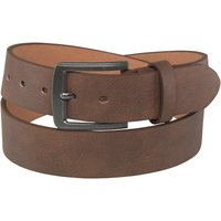 Fluid Mens Bonded Leather Belt Brown