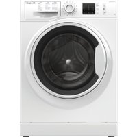 HOTPOINT NM10 844 WW UK 8 kg 1400 Spin Washing Machine - White, White