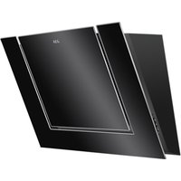 AEG DVB4850B Angled Chimney Cooker Hood, Black