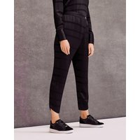 Wrap-front Jogger Trousers
