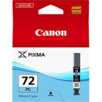 CANON PGI-72 Photo Cyan Ink Cartridge, Cyan