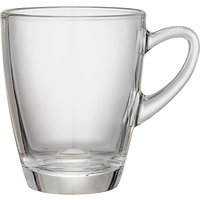 John Lewis & Partners Coffee Connoisseur Glass Kenya Mug, 320ml, Clear