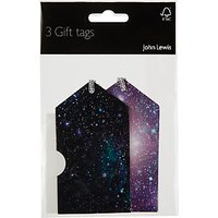 John Lewis & Partners Cosmic Gift Tags, Pack of 4