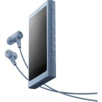 SONY Walkman NW-A45HN Touchscreen MP3 Player with Noise-Cancelling Headphones - 16 GB, Blue, Blue