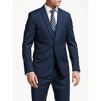 PS Paul Smith Wool Mohair Tailored Fit Suit Jacket, Navy