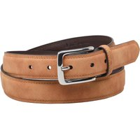 Ben Sherman Mens Classic Twin Stitch Belt Camel