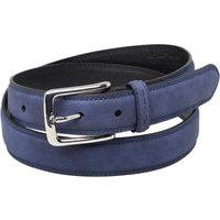 Ben Sherman Mens Classic Twin Stitch Belt Navy