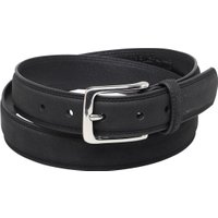 Ben Sherman Mens Classic Twin Stitch Belt Black