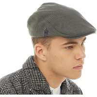 French Connection Mens Travis Flat Cap Charcoal