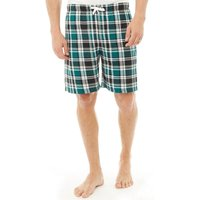 Kangaroo Poo Mens Woven Check Shorts Multi