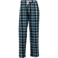 Kangaroo Poo Mens Woven Check Straight Legged PJ Pants Multi