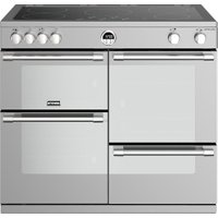 STOVES Sterling S1000Ei SS 100 cm Electric Induction Range Cooker - Stainless Steel, Stainless Steel