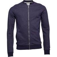 Onfire Mens Zip Through Sweatshirt Indigo