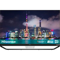 Hisense 65U9A ULED HDR 4K Ultra HD Smart TV, 65 with Freeview Play, Ultra HD Premium Certified, Blac