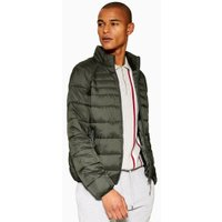 Mens Dark Green Liner Jacket, Green