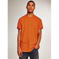 Mens Orange Oversized T-Shirt, Orange
