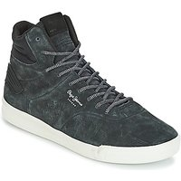 Pepe jeans  BTN 01  men's Shoes (High-top Trainers) in Blue