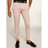 Mens Pink Skinny Trousers, Pink