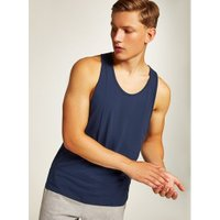 Mens Navy Slim Fit Vest, Navy