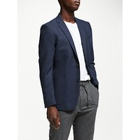 Kin Semi Plain Slim Fit Blazer, Navy