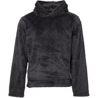 Fluid Mens Wellsoft Hooded Snuggle Top Charcoal