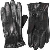Kangaroo Poo Mens Leather Gloves Black