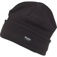 Kangaroo Poo Mens Thinsulate Polar Fleece Hat Black