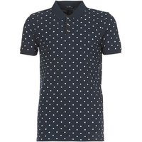 Scotch   Soda  HYDUES  men's Polo shirt in Blue