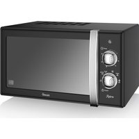 SWAN SM22130BN Solo Microwave - Blue, Black