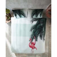 Tropical Print Cotton Pillowcase Pair