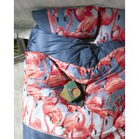 Flamingo Super King Duvet Cover