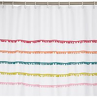 John Lewis Pom Pom Shower Curtain