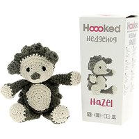 Hoooked Hazel Hedgehog Crochet Kit, Brown