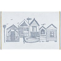 John Lewis & Partners Beach Huts Terry Bath Mat