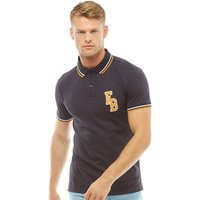 Fred & Boston Mens Pique Polo Navy