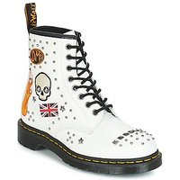 Dr Martens  1460 ROCKABILLY  men's Mid Boots in White