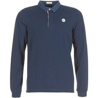Serge Blanco  POLO JERSEY  men's Polo shirt in Blue