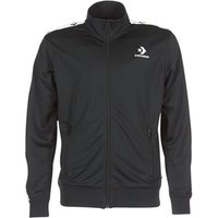 Converse  CONVERSE STAR CHEVRON TRACK JACKET  men's Tracksuit jacket in Black