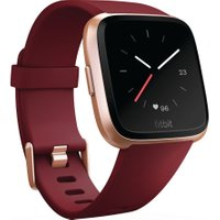 FITBIT Versa - Ruby & Rose Gold, Gold