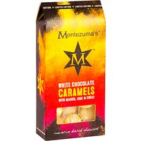 Montezuma's White Chocolate Caramels with Mango, Lime & Chilli, 120g