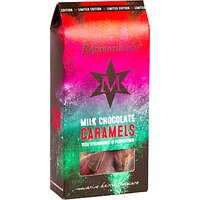 Montezuma's Milk Chocolate Caramels with Strawberry and Peppercorn, 120g