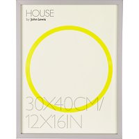 House by John Lewis Box Picture Frame, 12 x 16 (30 x 40cm)