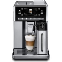 DELONGHI Prima Donna Exclusive ESAM6900.M Bean to Cup Coffee Machine - Black & Stainless Steel, Stai